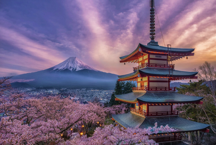 Travel To Japan the land of the rising sun!