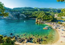 Тourist attractions Of Corfu islands in Greece