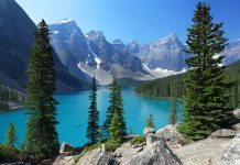 The most popular travel destination in Canada