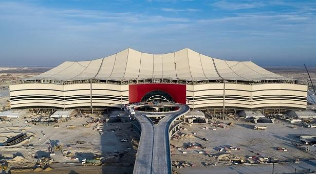 The 2022 World Cup will be held at the Al Bayat Stadium in Qatar
