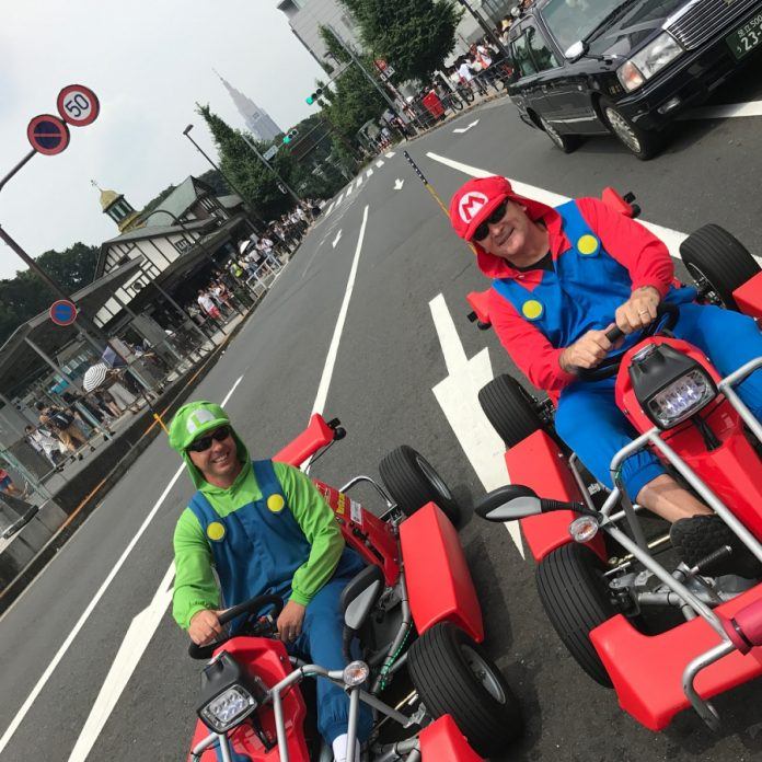 Mario Kart in actual life on the streets of Tokyo