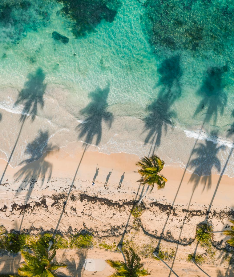5 spectacular seashores within the Dominican Republic